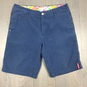 """Tommy Bahama Relax Check Plaid Shorts 10"""" Inseam"""
